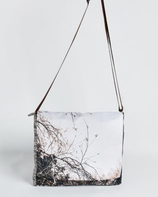 Sac besace marine branche