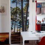 Décor mural extérieur 0,8 x 2 m – Collection Pinède