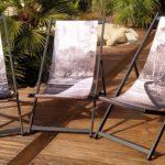 Toile de transat Triptyque – Collection Forêt