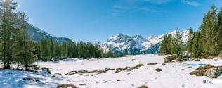 Décor mural extérieur – Montagne Suisse – Collection Montagne