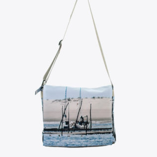 Sac besace marine Voilier