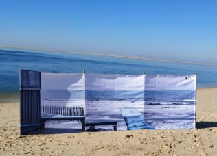 Paravent de plage 3 x 1 m – Collection Cabane