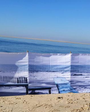 Paravent de plage 3 x 1 m – Collection Cabane
