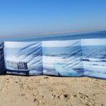 Paravent de plage 4 x 0,75 m – Collection Cabane