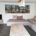 Décor mural extérieur 2 x 0,8 m – Collection Pinède