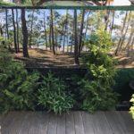 Décor mural extérieur 3 x 1 m – Collection Pinède