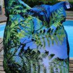 Coussin géant d'extérieur Fougère – Collection Pinède
