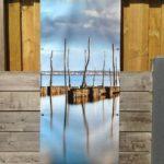 Décor mural extérieur 0,8 x 2 m – Collection Bassin