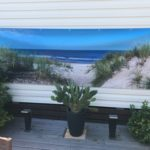 Décor mural extérieur  3 x 1 m – Accès Plage 2 – Collection Grand Large