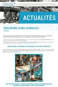 MARQUE BASSIN D'ARCACHON : Soyez inspirés : offrez un cadeau B'A !