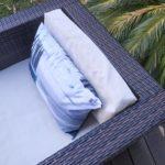 Coussin extérieur – Collection Cabane