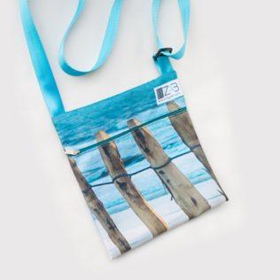 Sac Pochette bandoulière Turquoise