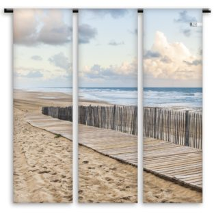 Toile de transat Triptyque – Chemin couchant – Collection Grand Large