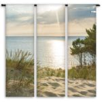 Toile de transat Triptyque – Dune couchant – Collection Dune