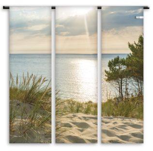 Toile de transat Triptyque – Dune couchant – Collection Dune