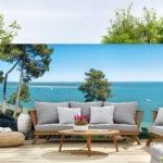 Décor mural extérieur – Vue El Palomar – Collection Bassin